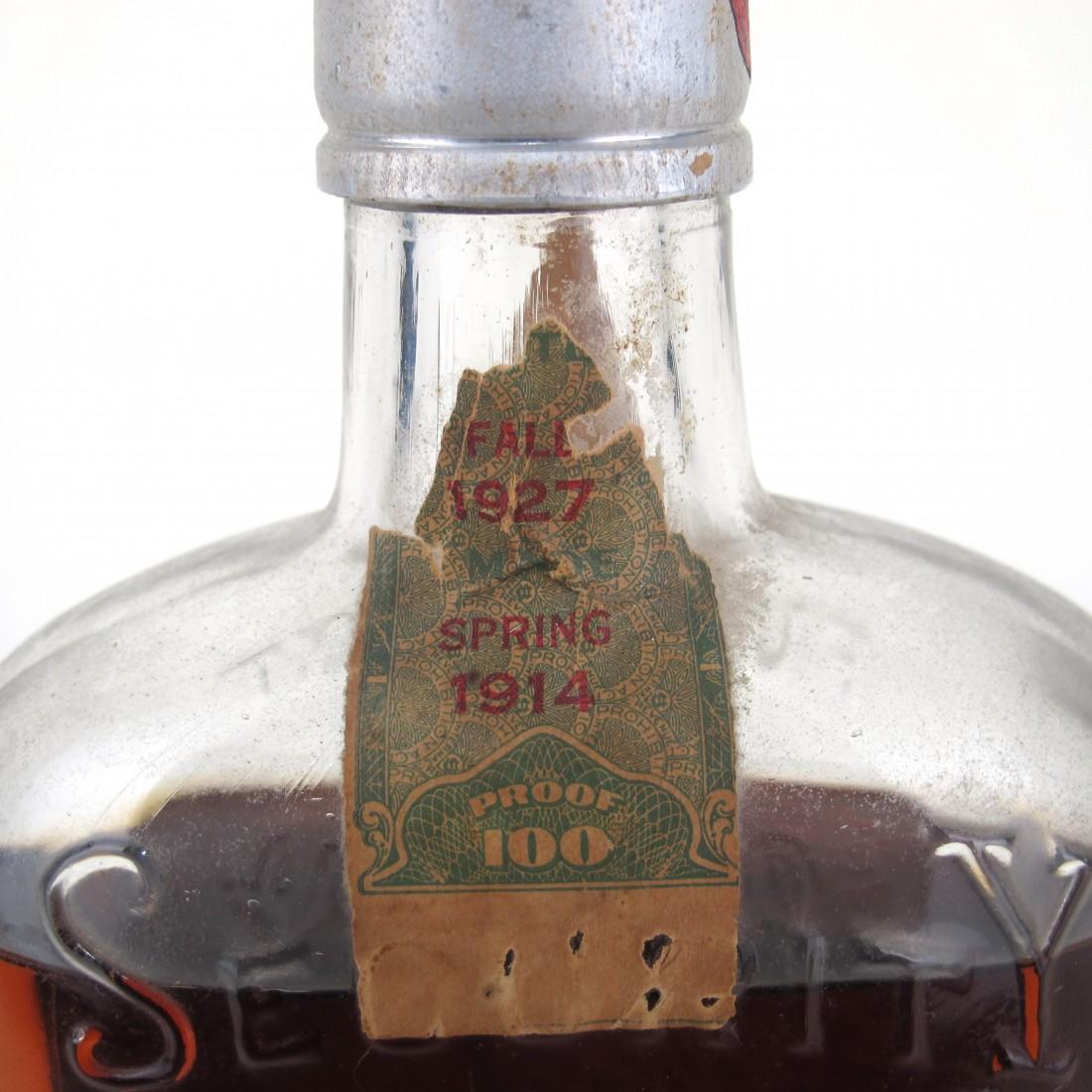 Old Spring Brook 1914 Kentucky Whiskey / Bottled 1927