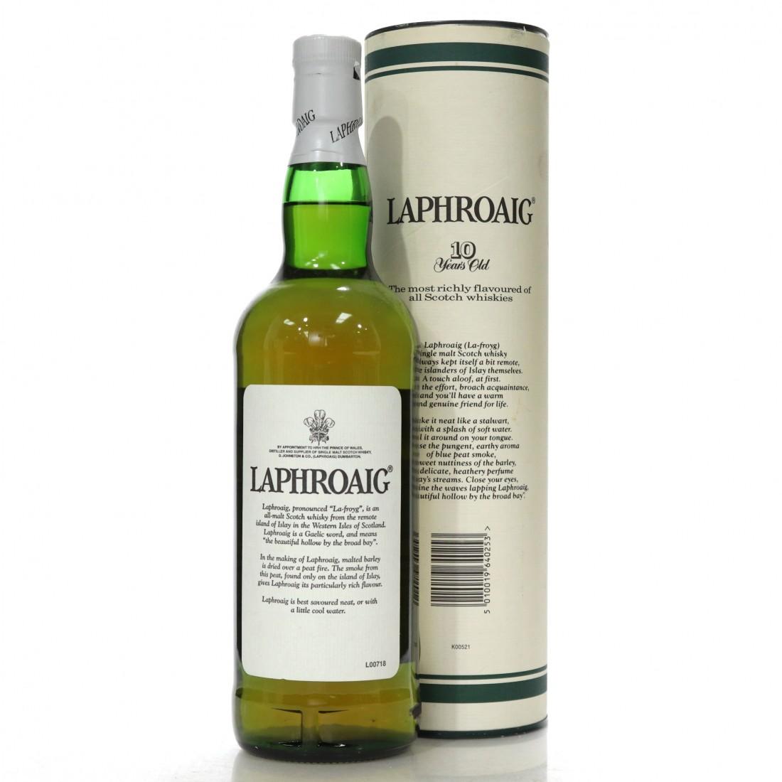 Laphroaig 10 Year Old 75cl