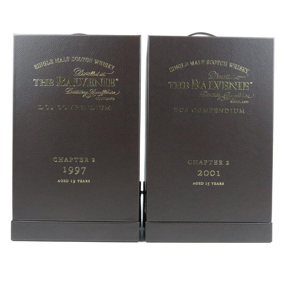 Balvenie 1997 and 2001 DCS Compendium Chapter #2 / 2x70cl
