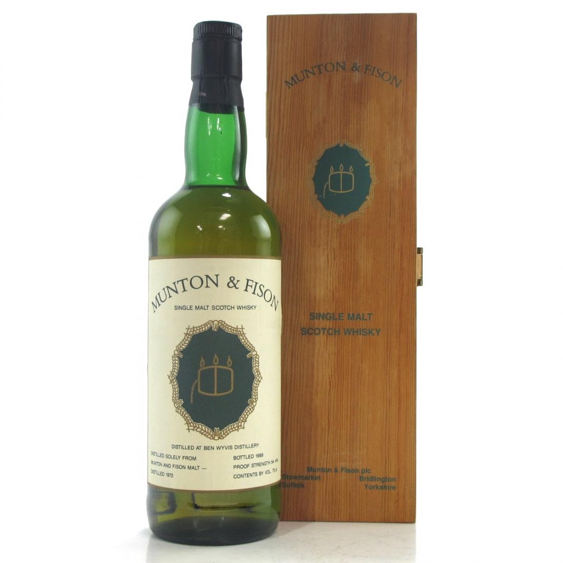 Ben Wyvis 1972 Munton & Fison