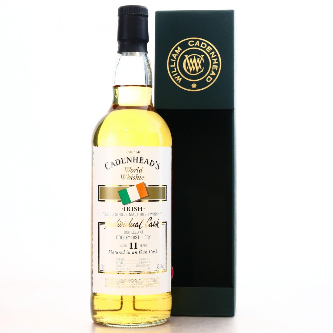 Cooley 1992 Cadenhead's 11 Year Old World Whiskies