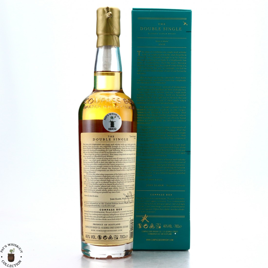 Compass Box The Double Single 2017
