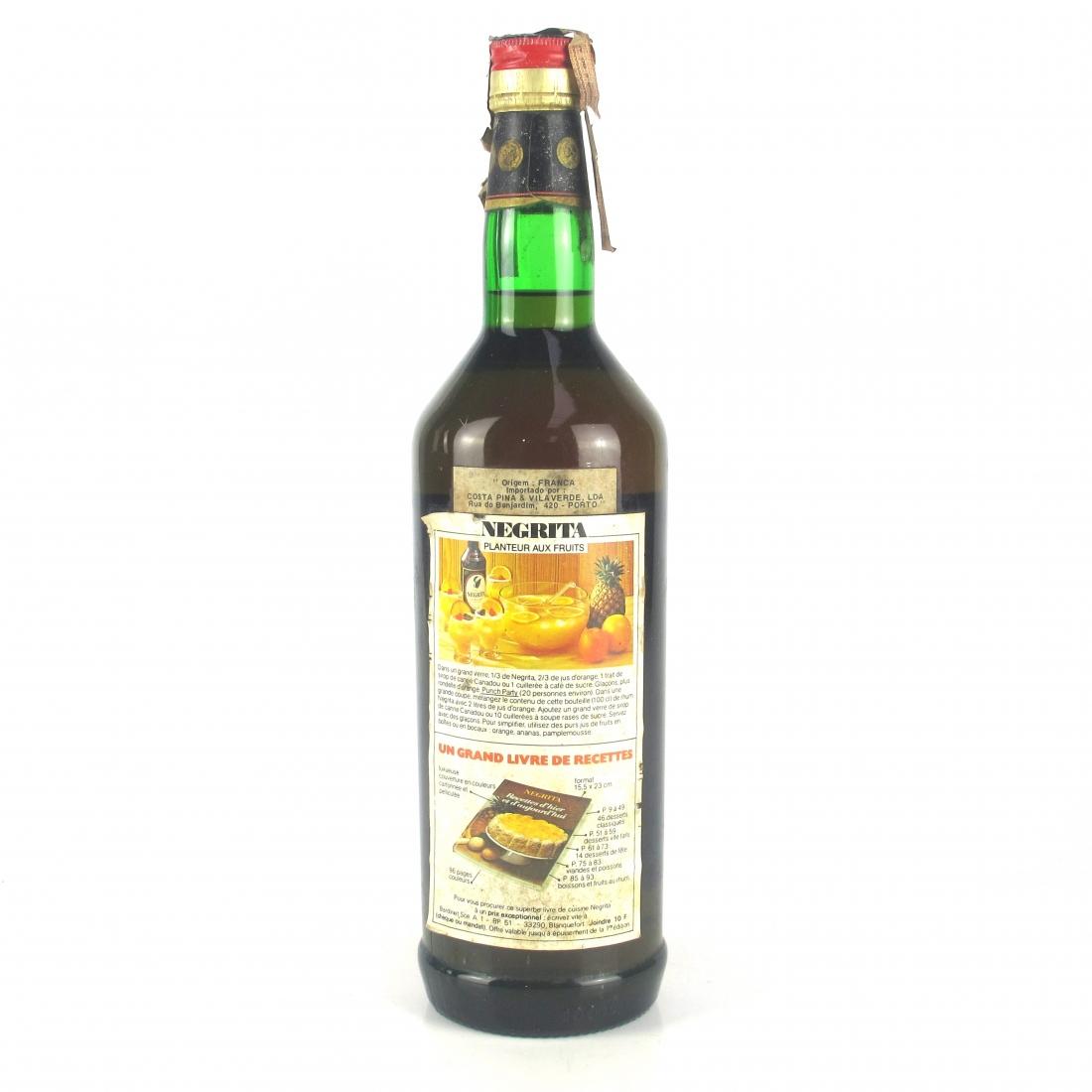 Negrita Bardinet Original Caribbean Rum 1 Litre 1960s