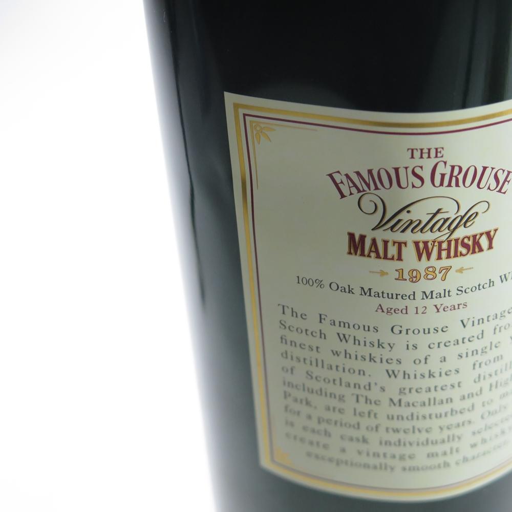 Famous Grouse 1987 Blended Malt