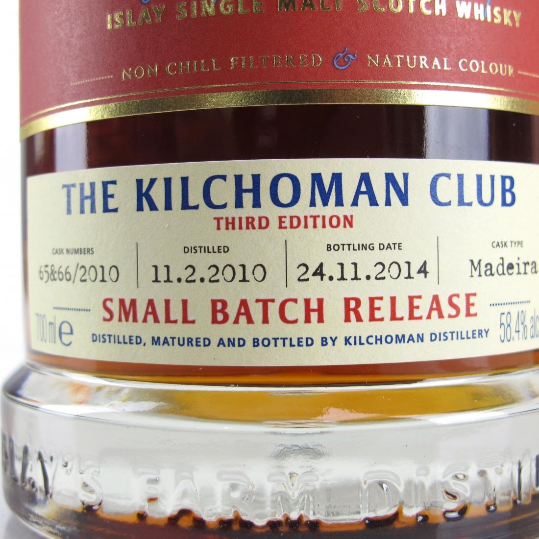 Kilchoman 2010 Small Batch / Kilchoman Club 3rd Edition