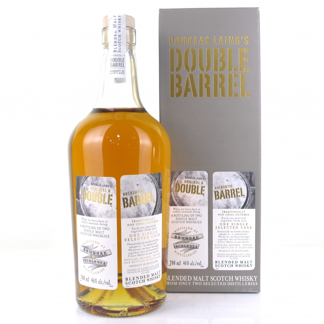 Bowmore / Inchgower Double Barrel Douglas Laing