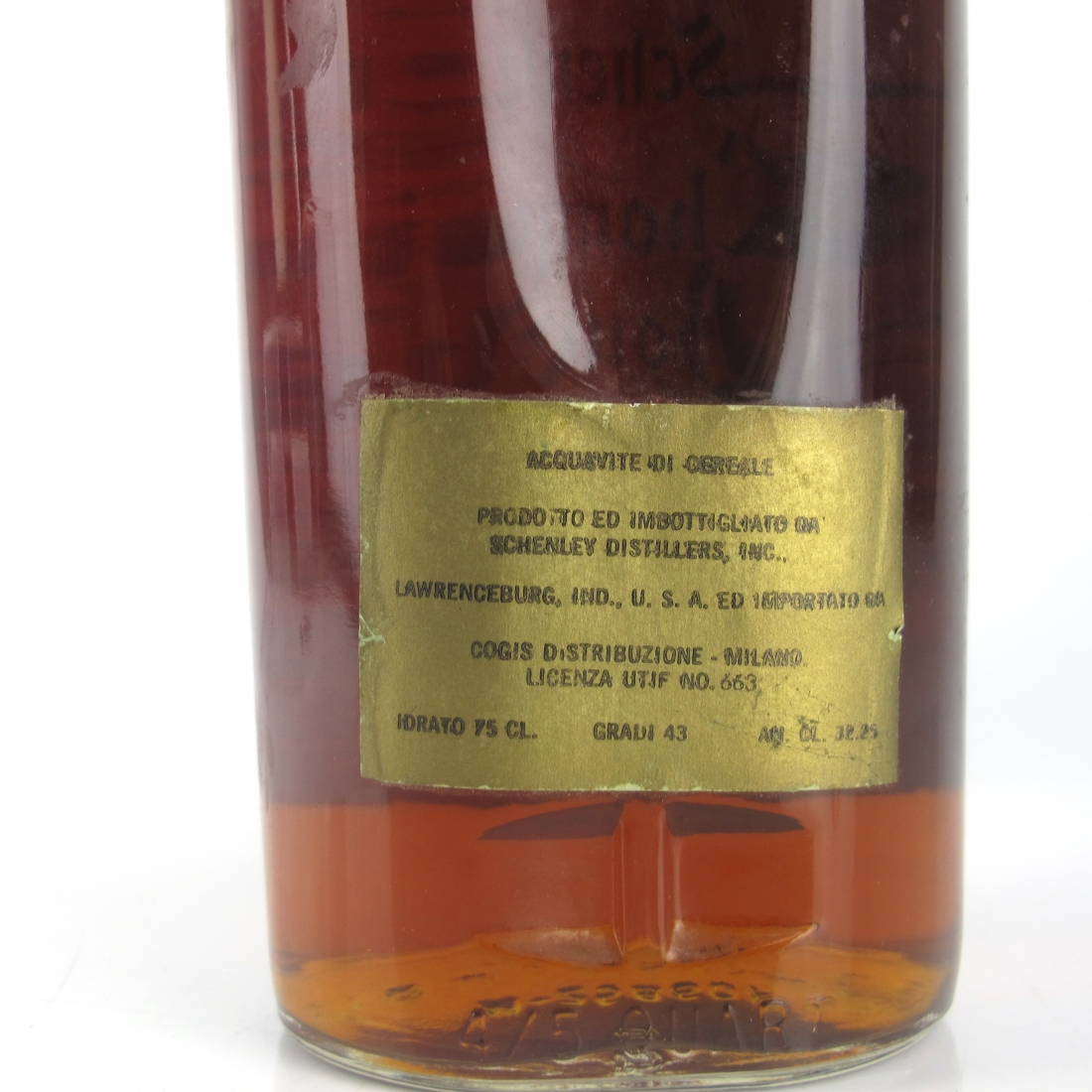 Schenley 8 Year Old Champion Bourbon 1960s