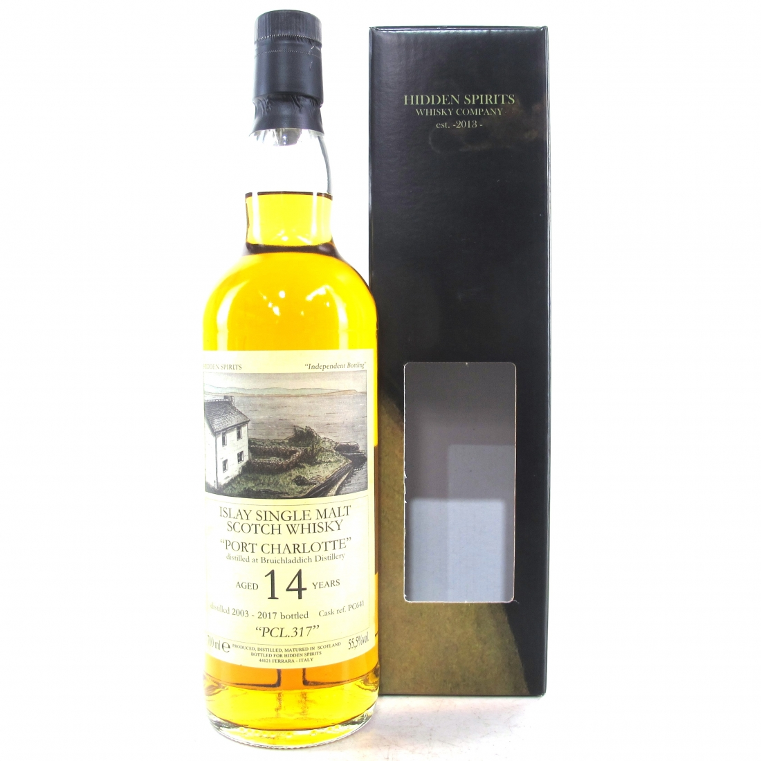 Port Charlotte 2003 Hidden Spirits 14 Year Old Single Cask