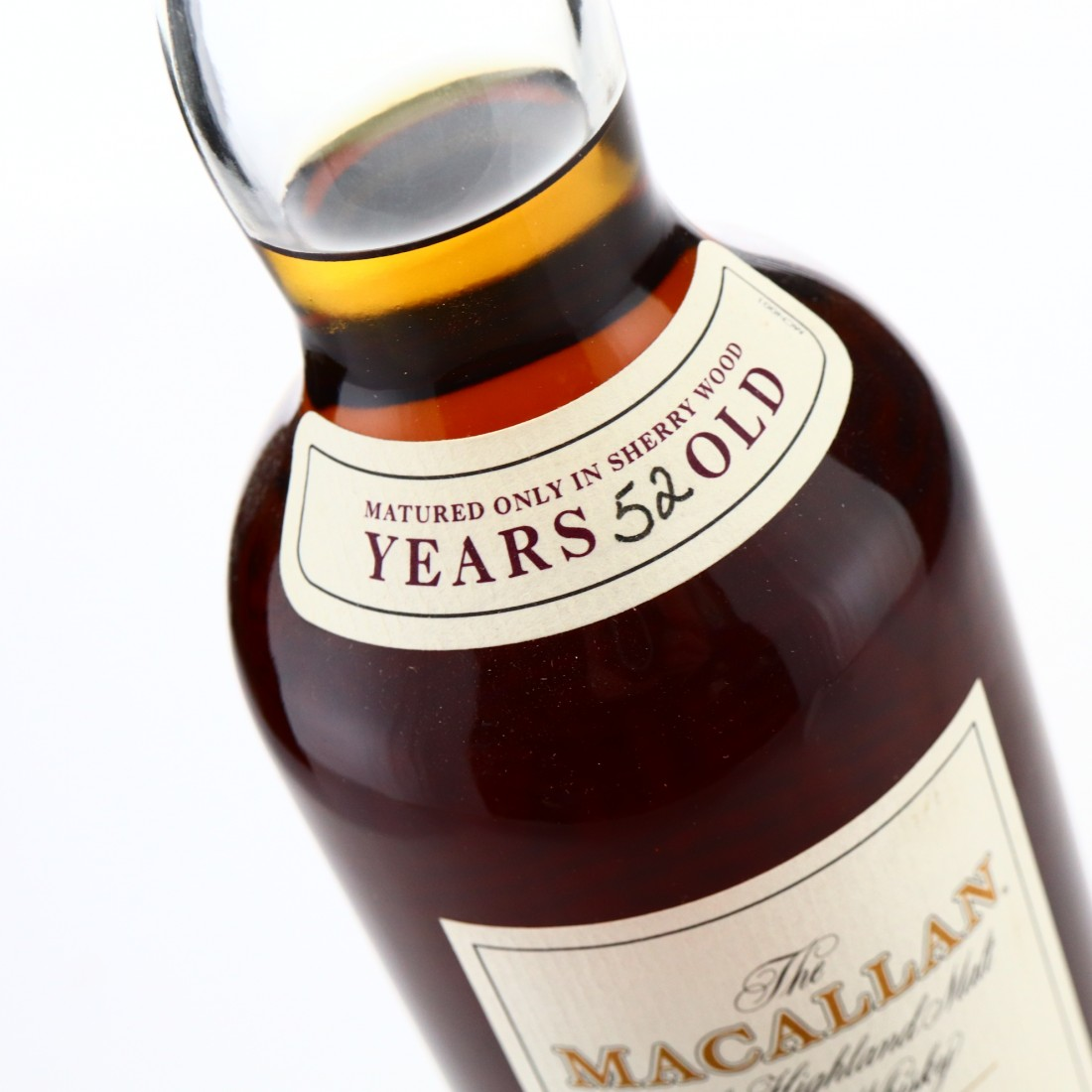 Macallan 1950 Fine and Rare 52 Year Old #598