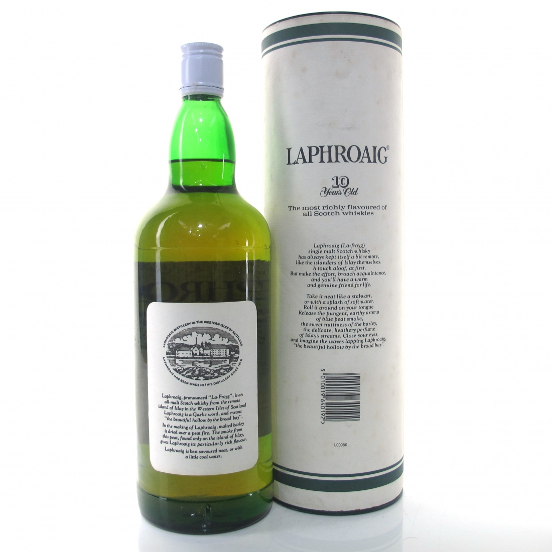 Laphroaig 10 Year Old 1980s 1.14 Litre