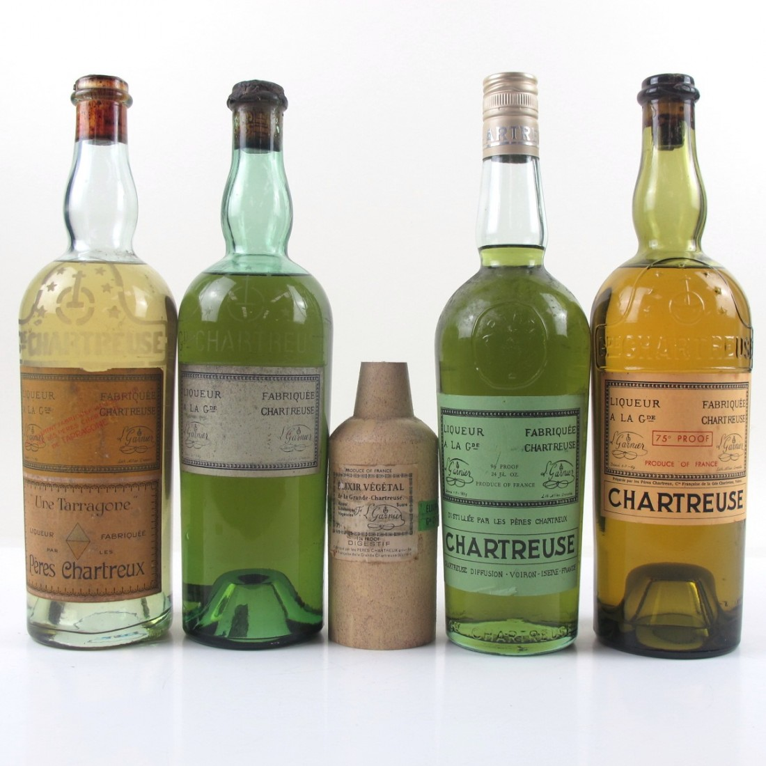 Vintage Chartreuse Selection