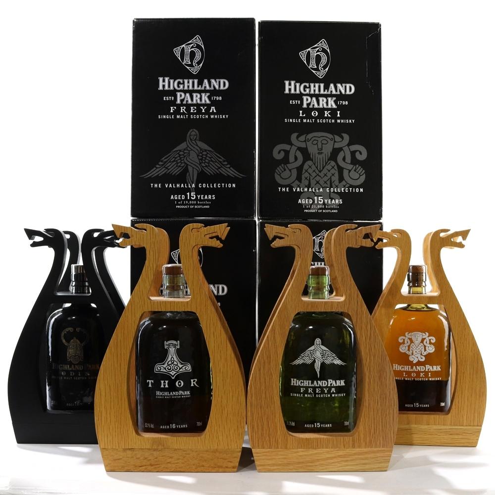 Highland Park Valhalla Collection 4 x 70cl