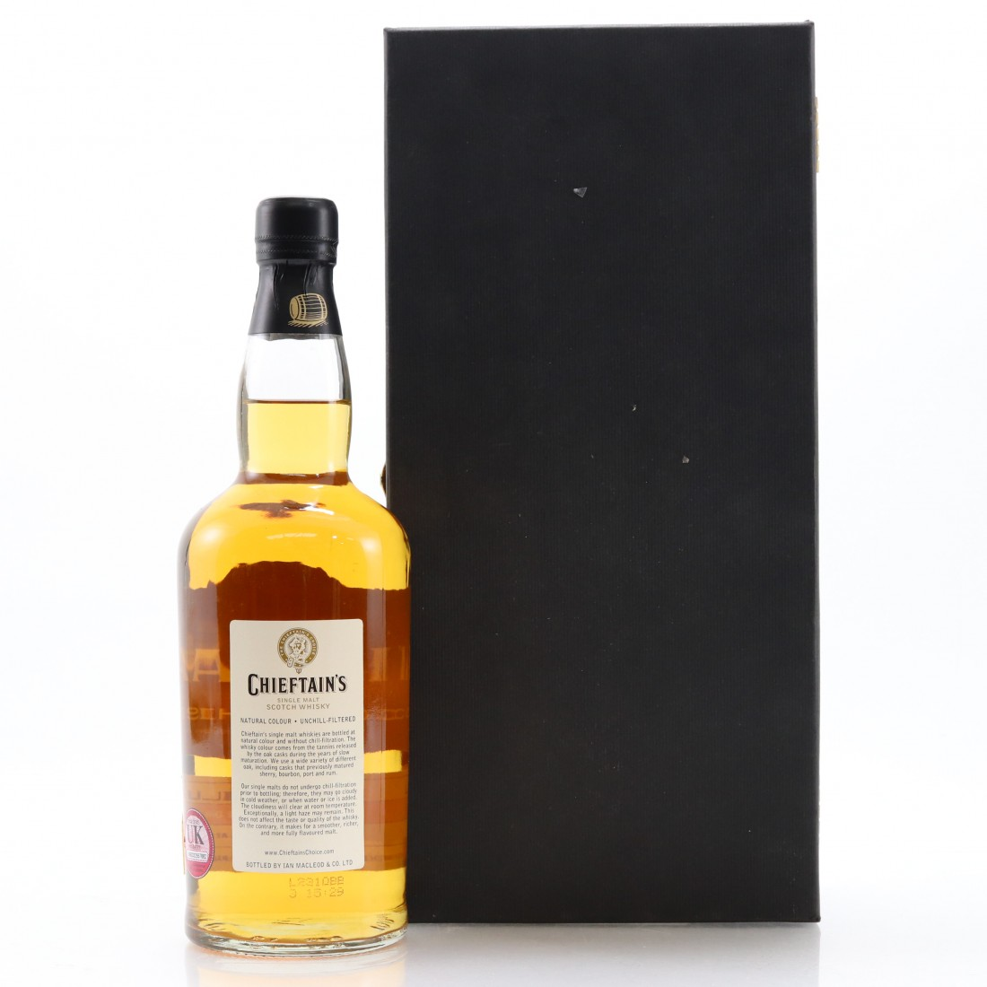Littlemill 1984 Chieftain's 18 Year Old Rum Finish