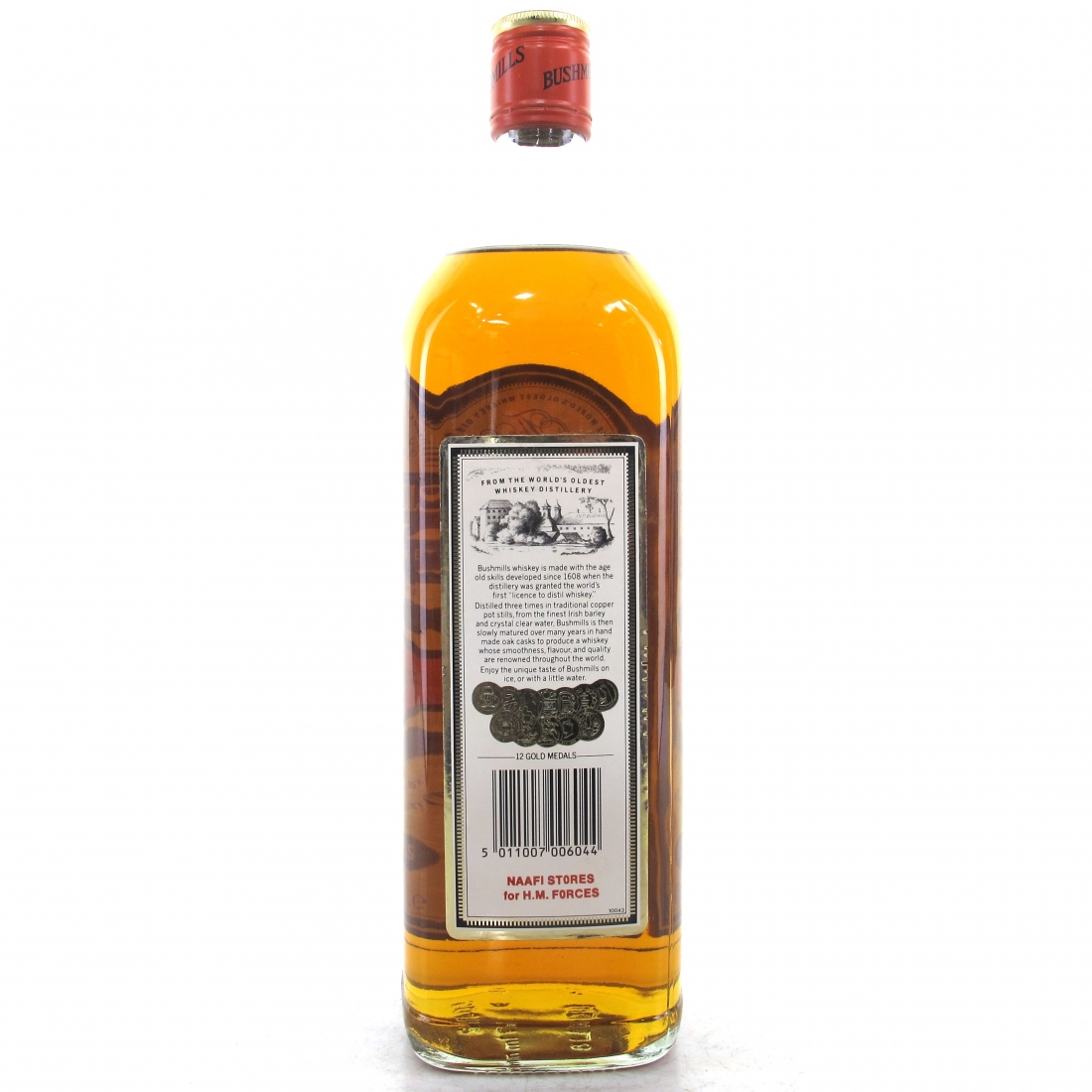 Bushmills Irish Whiskey 1 litre