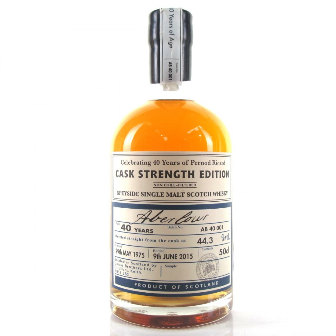 Aberlour 1975 Cask Strength 40 Year Old / Distillery Exclusive