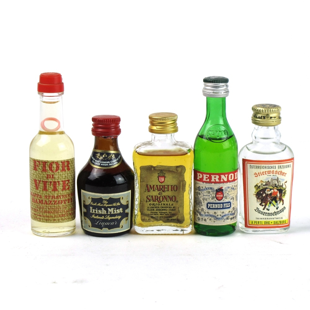 Assorted Miniature Selection 1970s/1980s 47 x 5cl