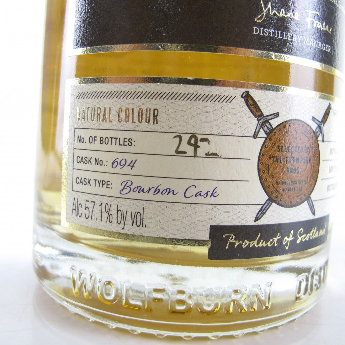 Wolfburn 2014 Private Bottling / Dornoch Castle