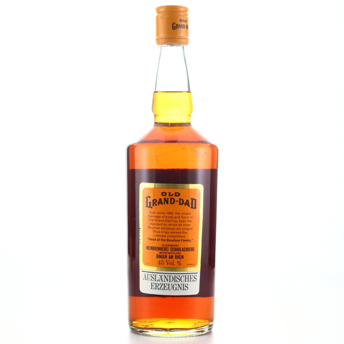 Old Grand-Dad Kentucky Straight Bourbon 1973