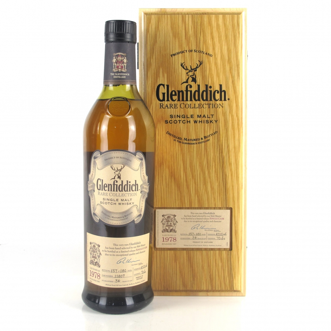 Glenfiddich 1978 Rare Collection 34 Year Old