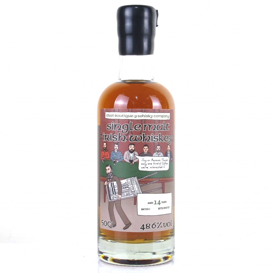 Irish Single Malt No.2 That Boutique-y Whisky Company 14 Year Old Batch #1