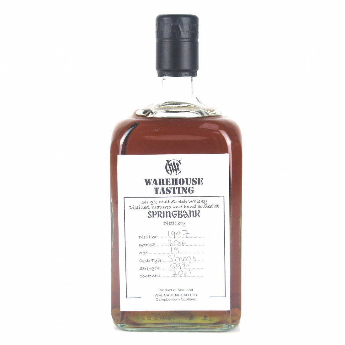 Springbank 1997 Sherry Wood Warehouse Tasting