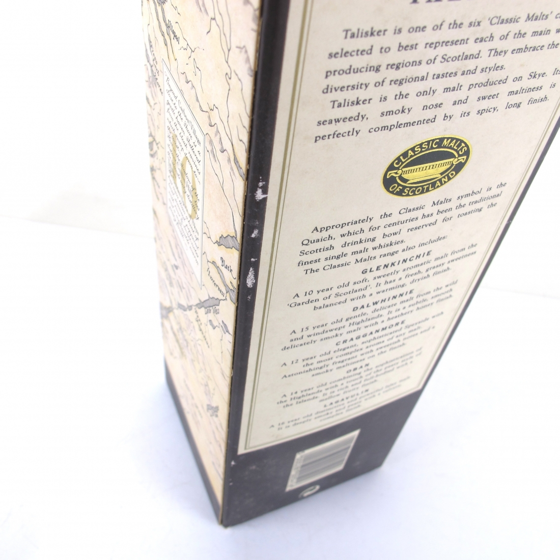 Talisker 10 Year Old Map Label