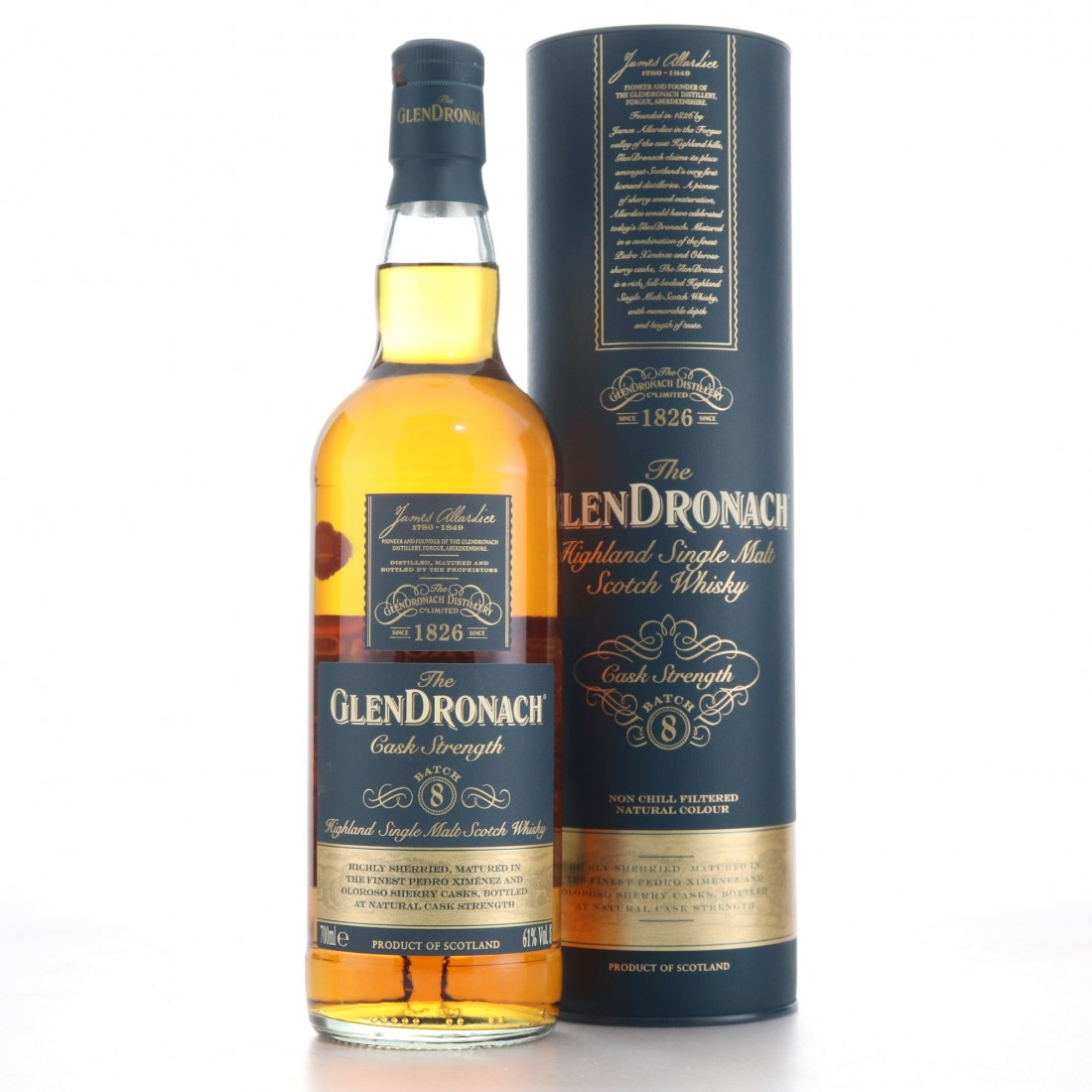 Glendronach Cask Strength Batch #8