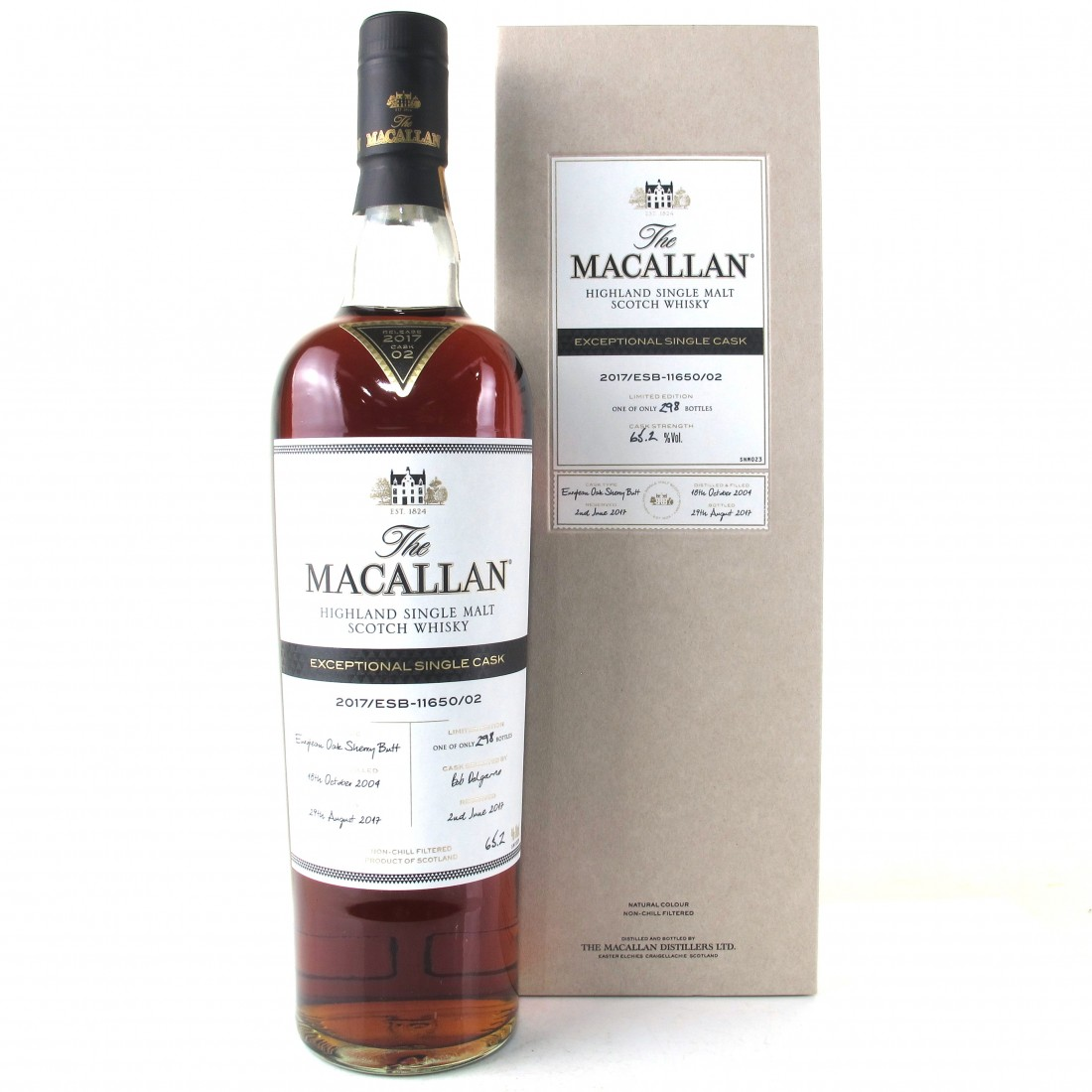 Macallan 2004 Exceptional Cask #11650-02