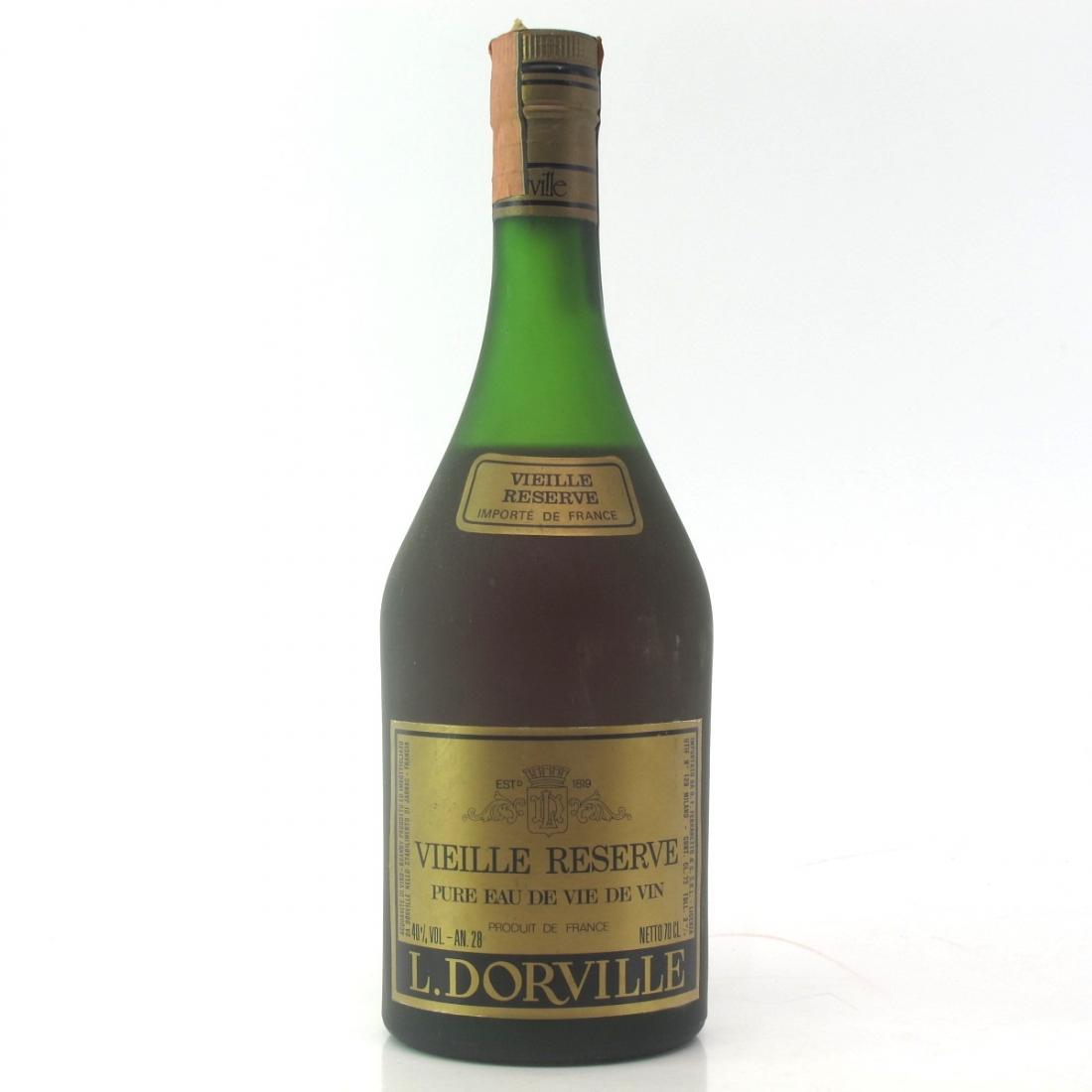 L Dorville Vielle Reserve 1980s