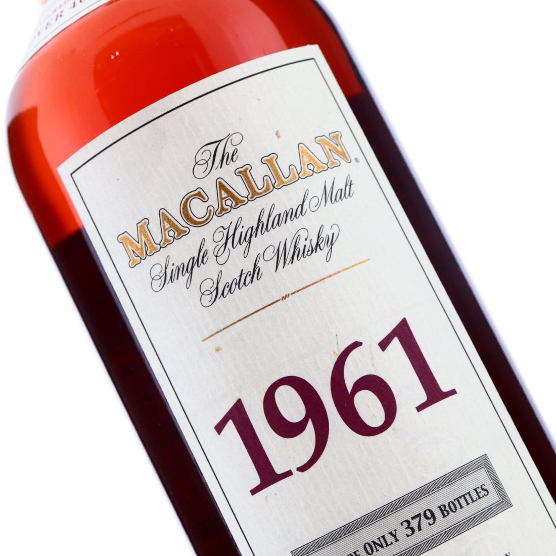 Macallan 1961 75cl / US Import