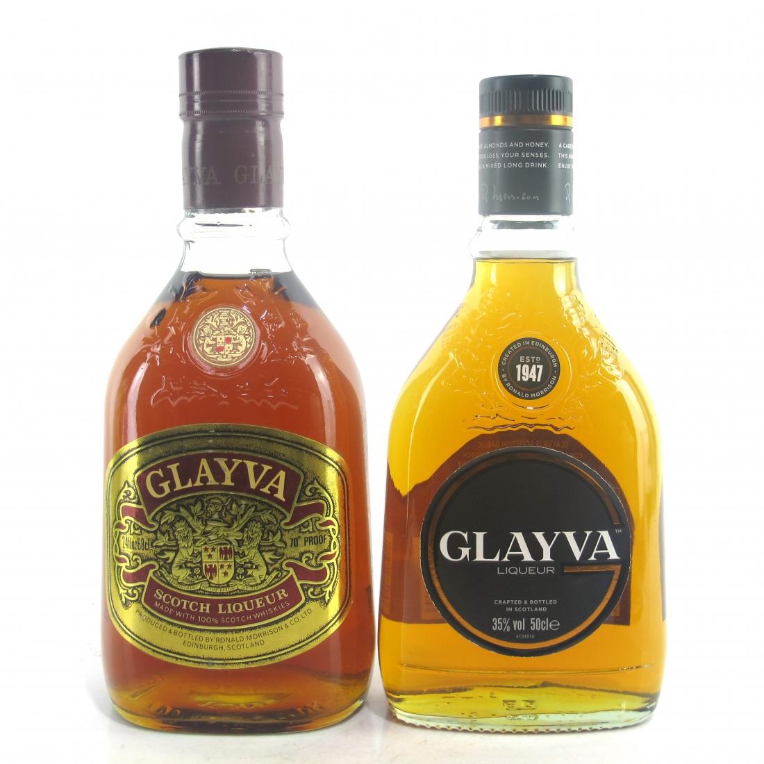 Glayva Scotch Liqueur x 2 / Current & 1970s