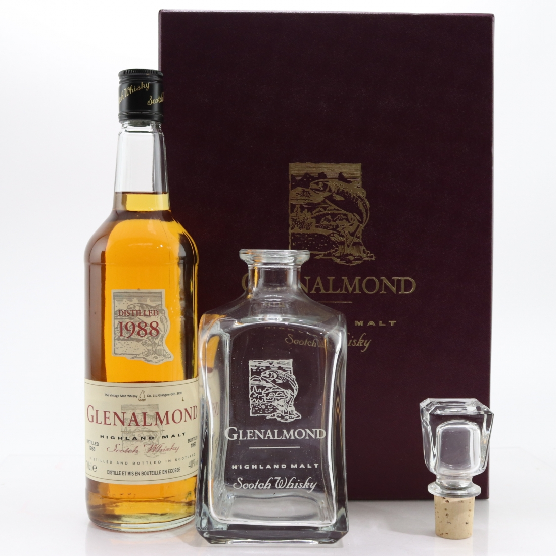 Glenalmond 1988 / with Decanter