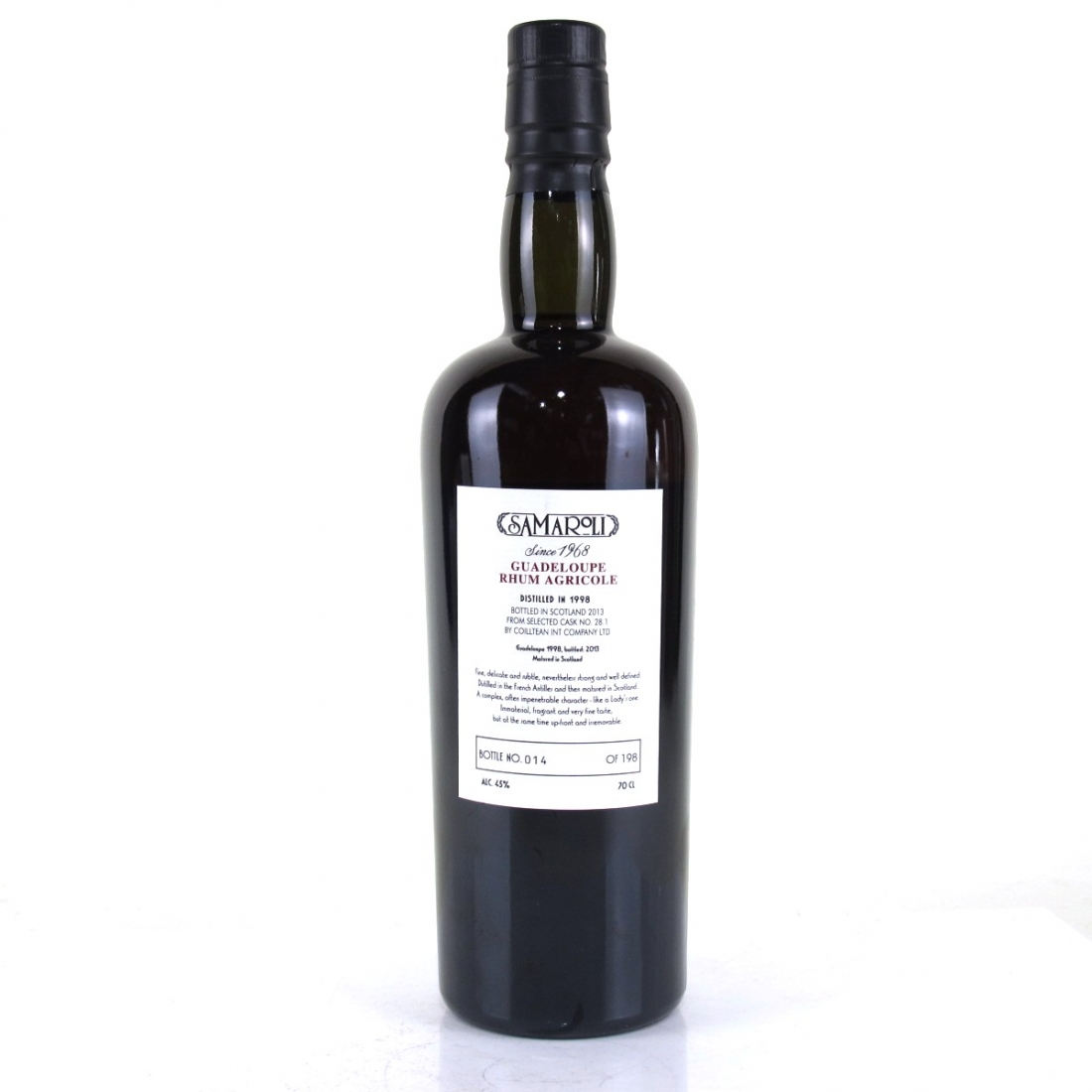 Guadeloupe 1998 Samaroli Single Cask Rum
