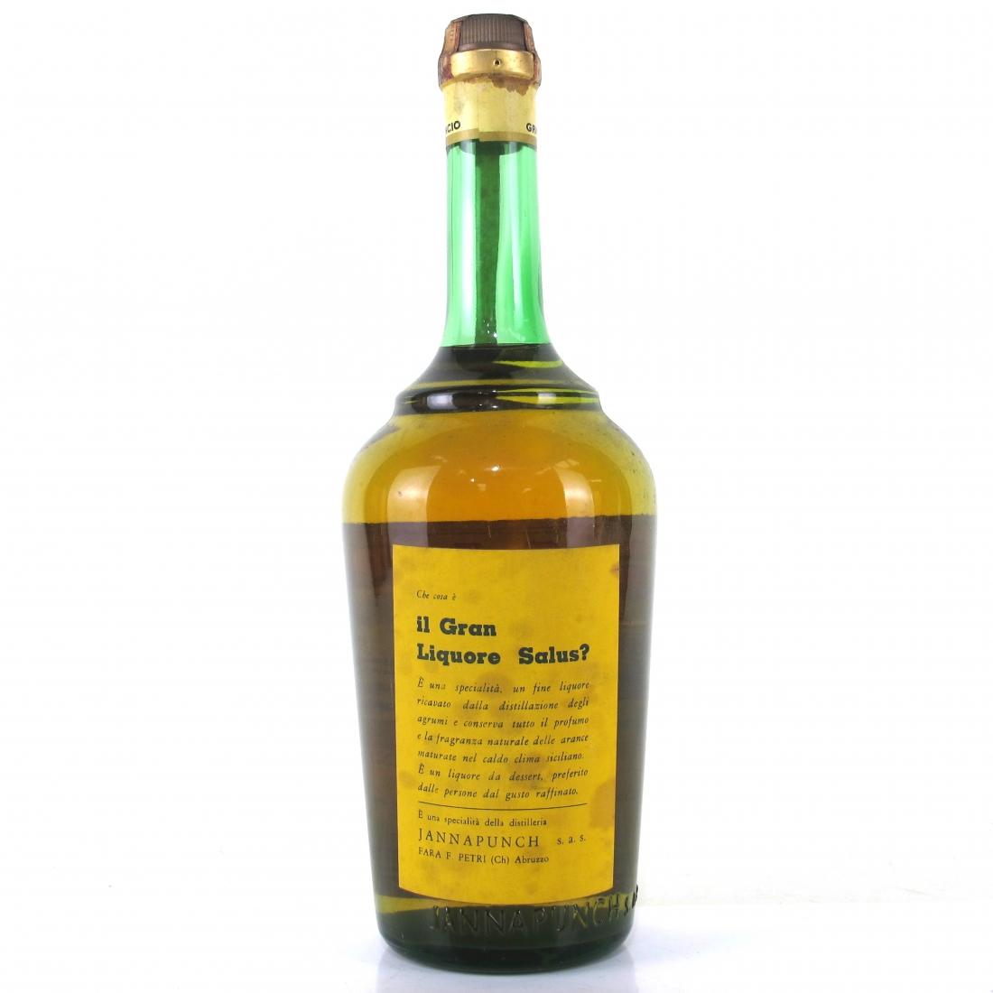 Salus Gran Liquore 1970s 1 Litre