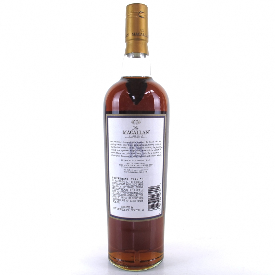 Macallan 18 Year Old 1986 75cl / US Import