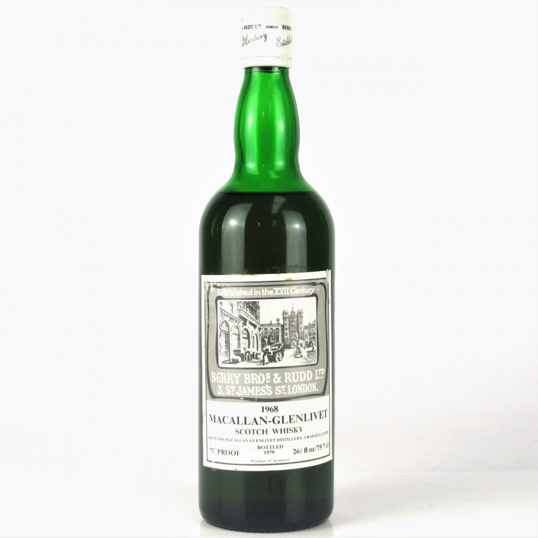 Macallan 1968 Berry Brothers and Rudd