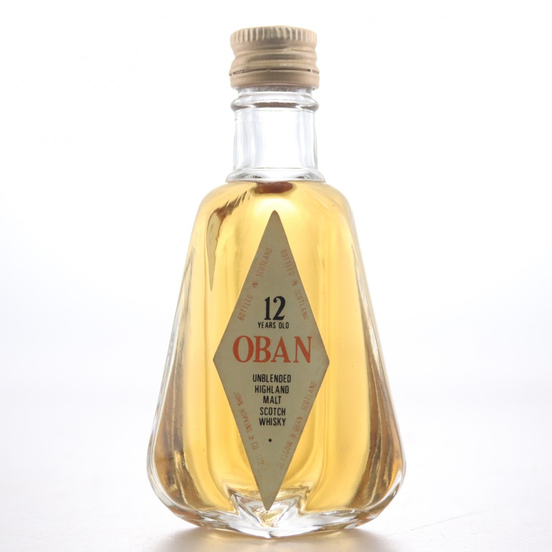 Oban 12 Year Old Miniature 1980s