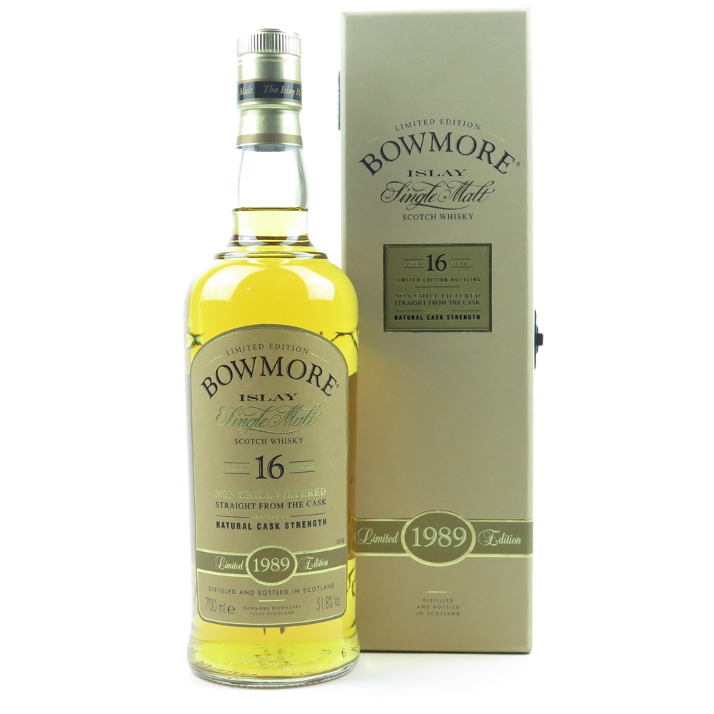 Bowmore 1989 Bourbon Cask 16 Year Old