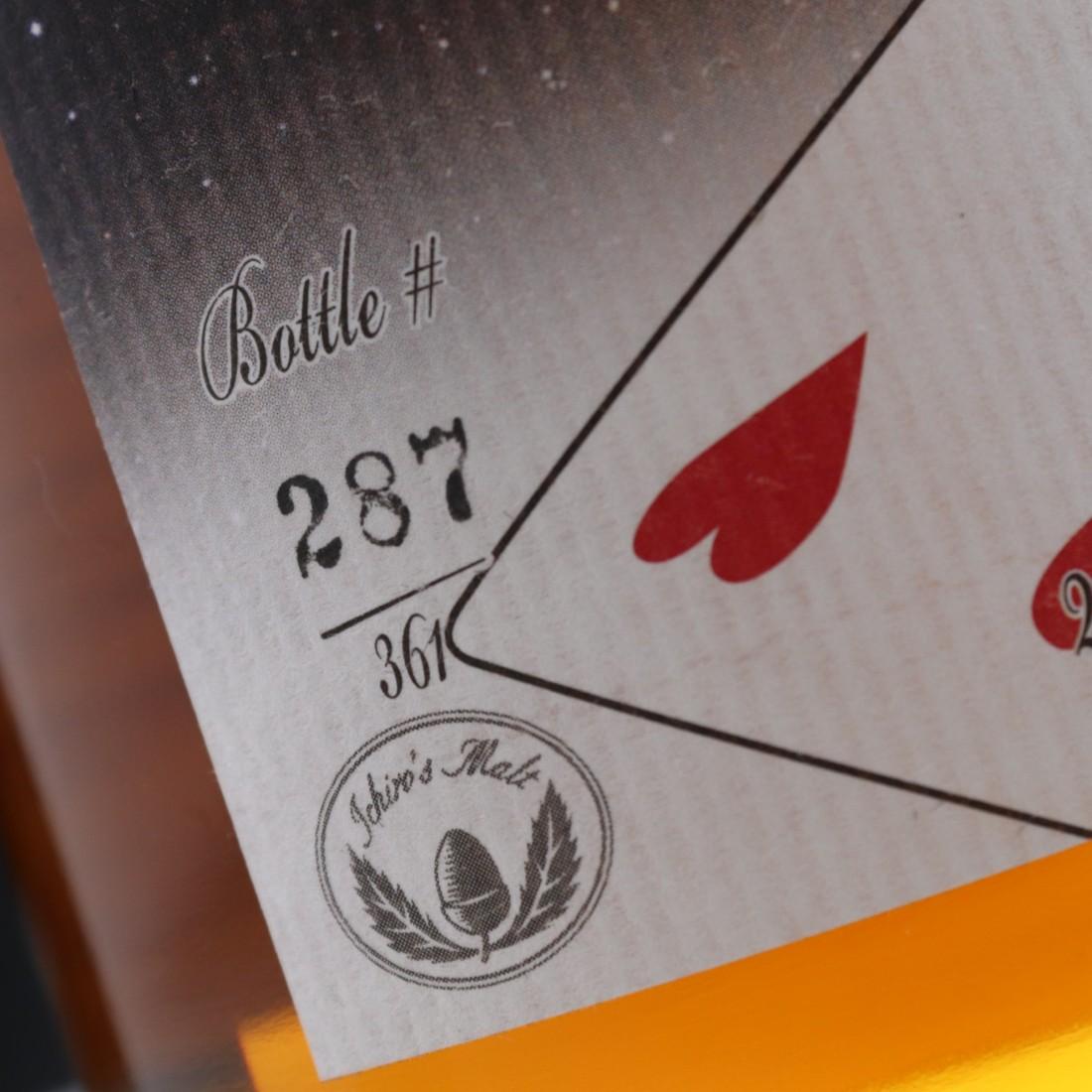 Hanyu 2000 Ichiro's Malt 'Card' #529 / Four of Hearts