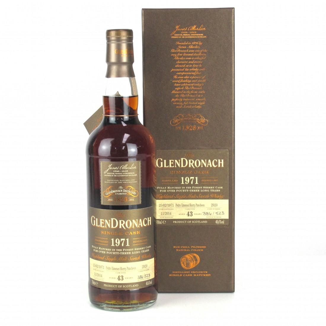Glendronach 1971 Single Cask 43 Year Old #2920