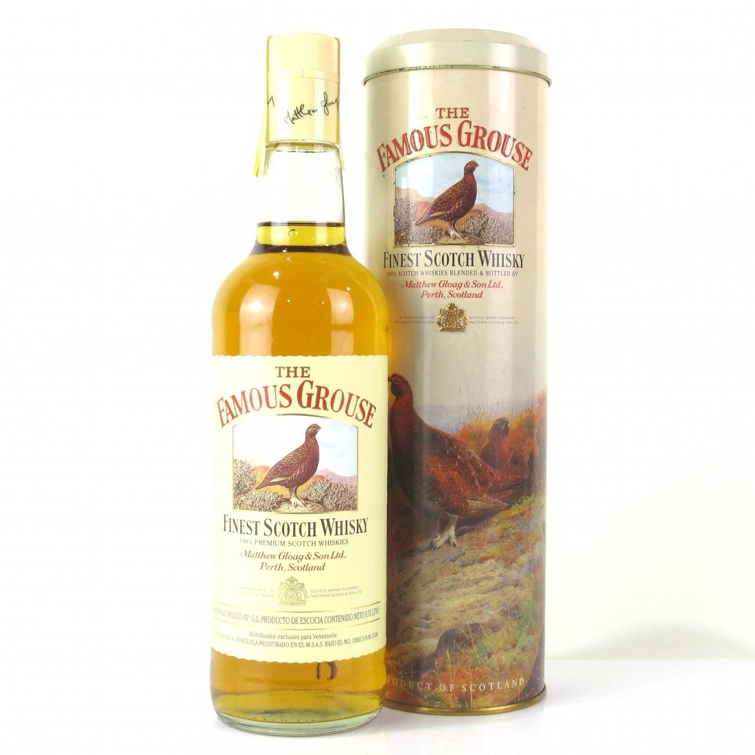 Famous Grouse Finest Scotch Whisky 75cl / Venezuelan Import