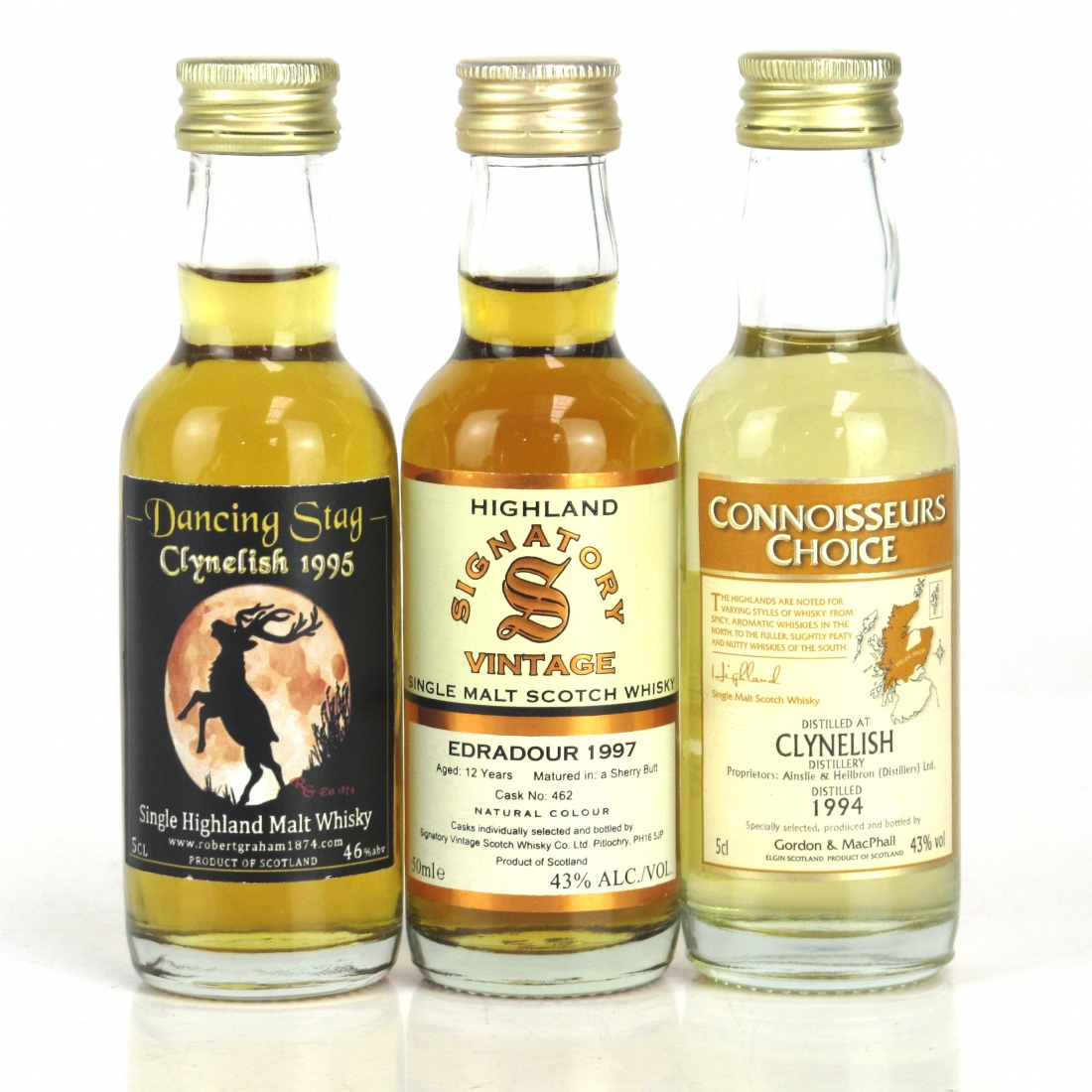 Highland Miniatures Selection 3 x 5cl