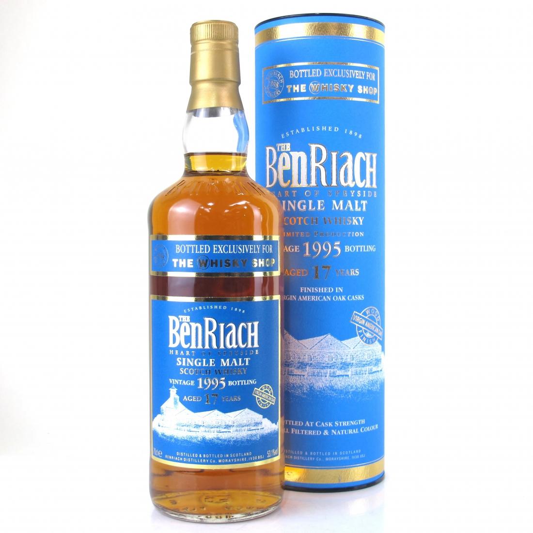 Benriach 1995 Virgin American Oak Finish 17 Year Old / Whisky Shop