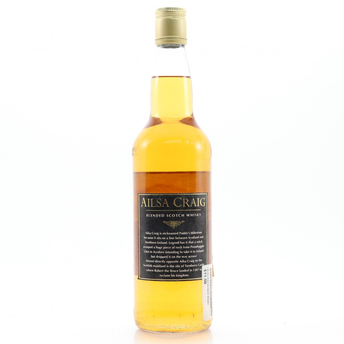 Ailsa Craig Blended Scotch Whisky