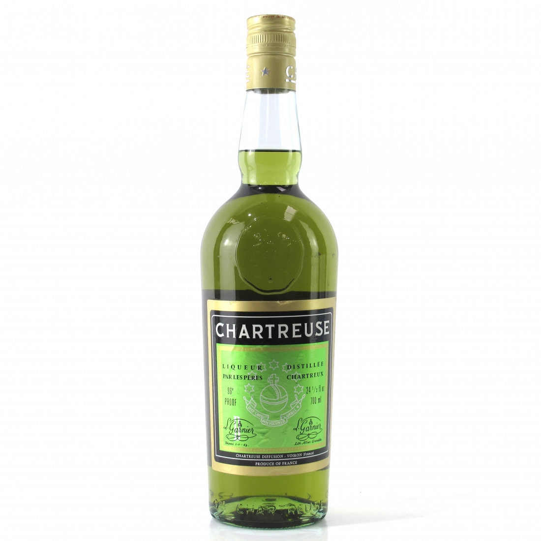 Chartreuse Voiron Green Label 1970s