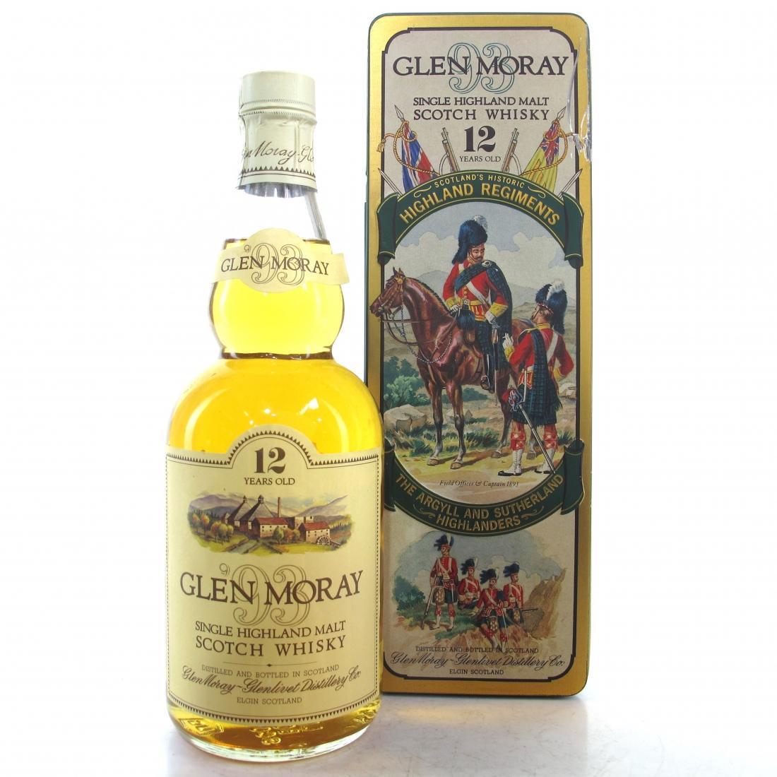 Glen Moray 12 Year Old 1980s / Argyll and Sutherland Highlanders