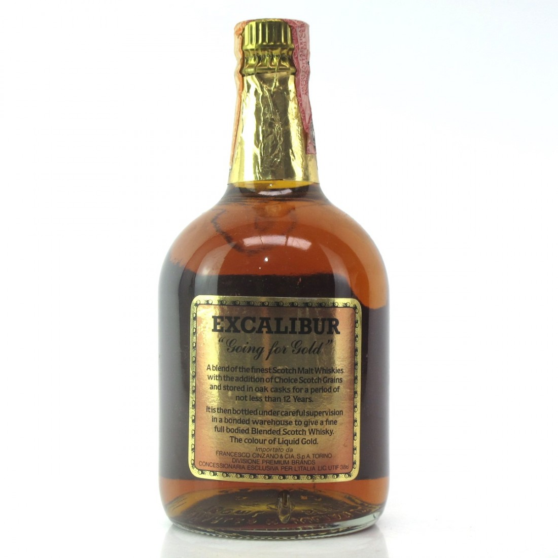Excalibur Gold 12 Year Old 1980s