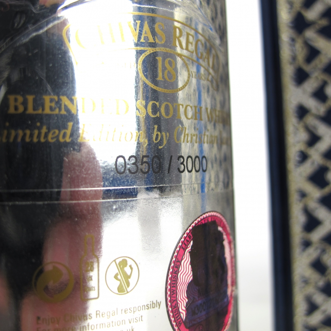 Chivas Regal 18 Year Old Christian Lacroix Edition