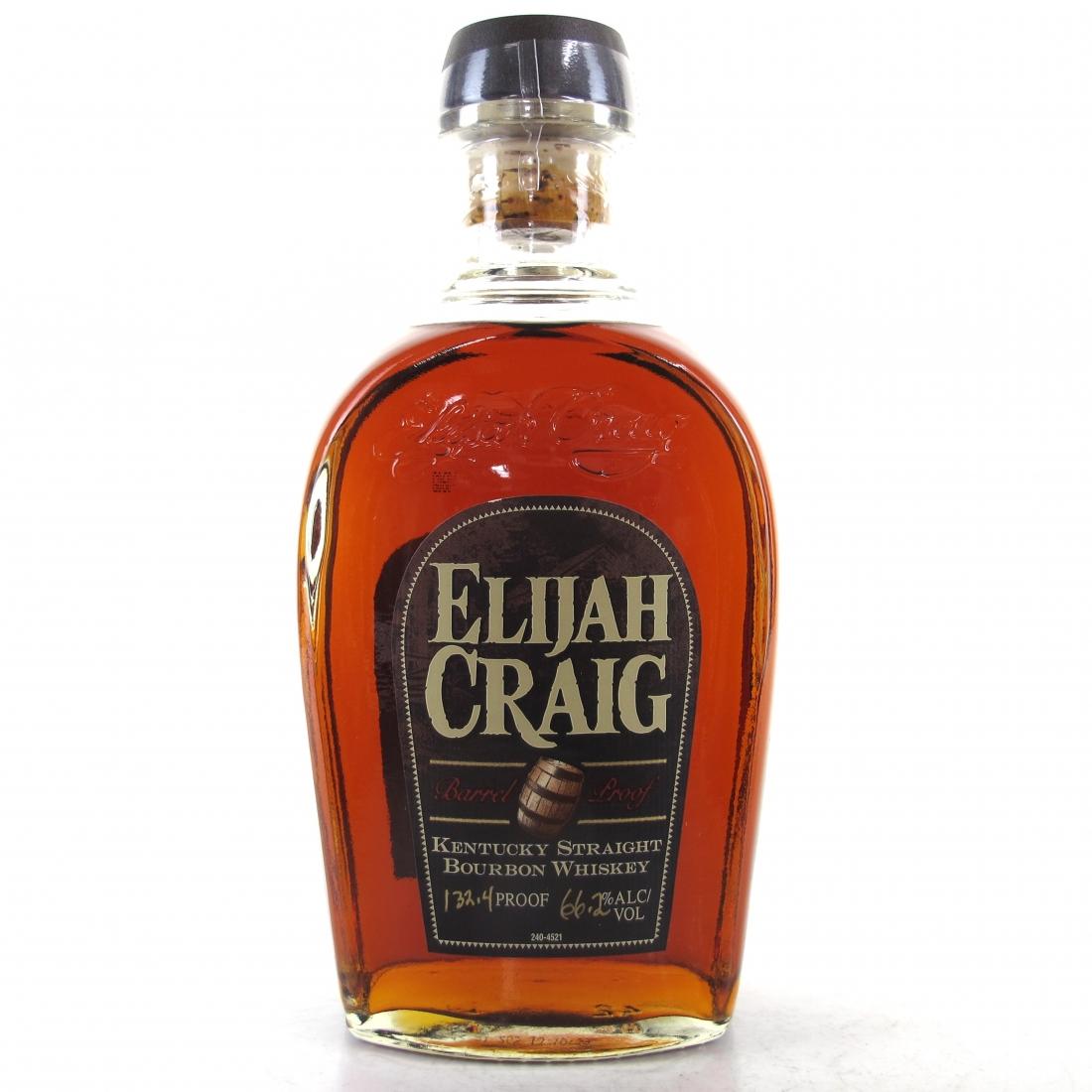 Elijah Craig Barrel Proof Bourbon 2014 Release / Batch #A314
