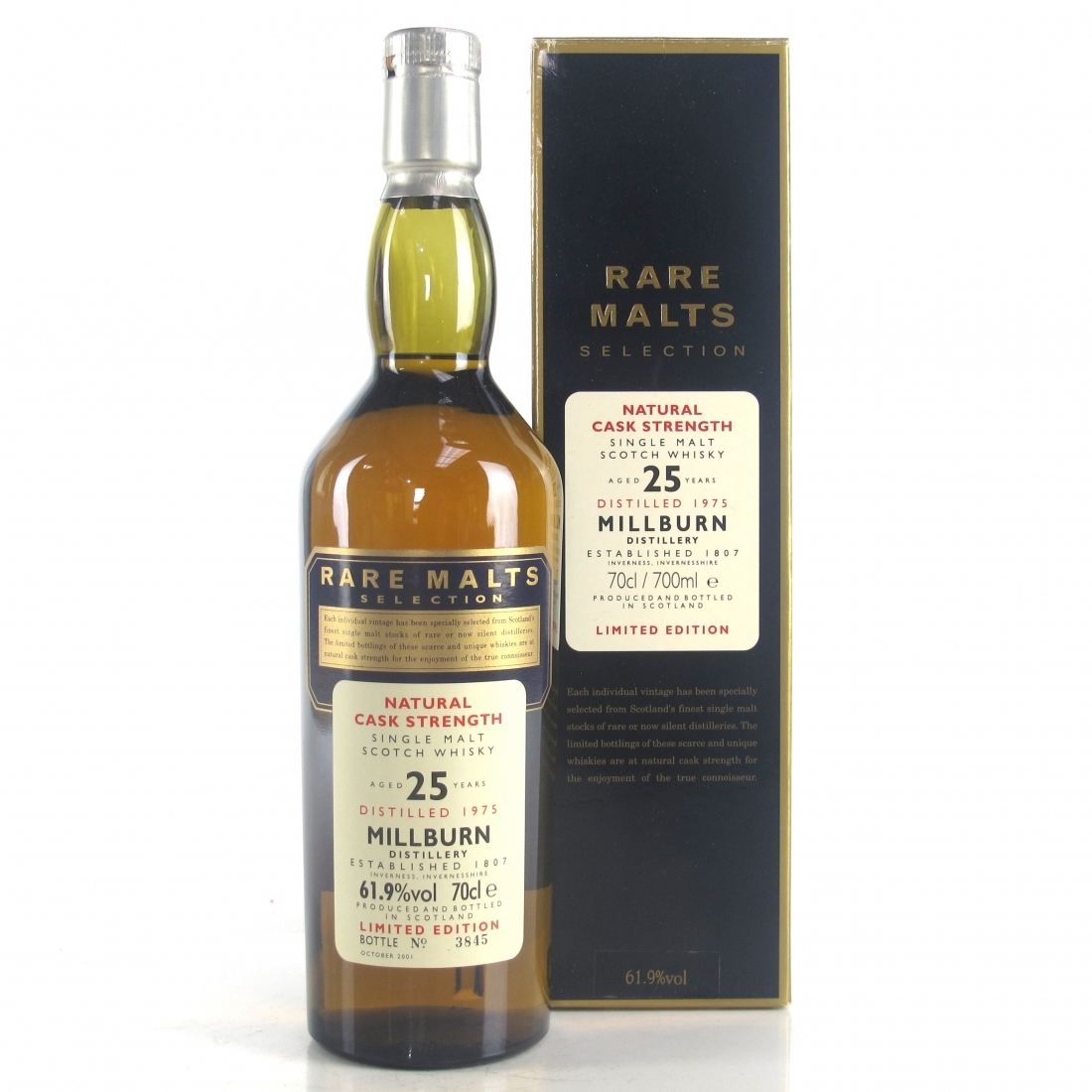 Millburn 1975 Rare Malt 25 Year Old / 61.9%